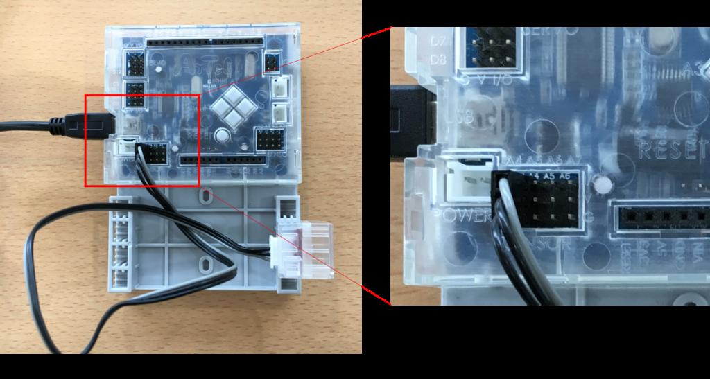 LEDを接続